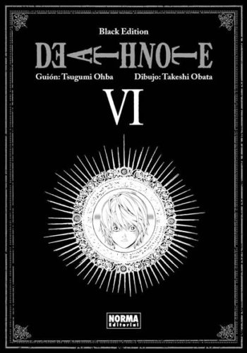 Death Note Black Edition manga tomo 6