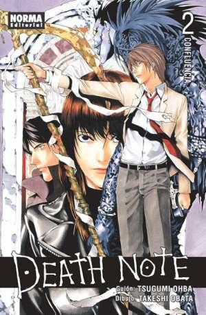 Death Note manga tomo 2 Confluencia