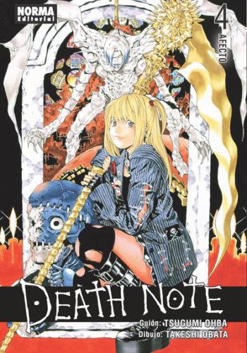 Death Note manga tomo 4 Afecto