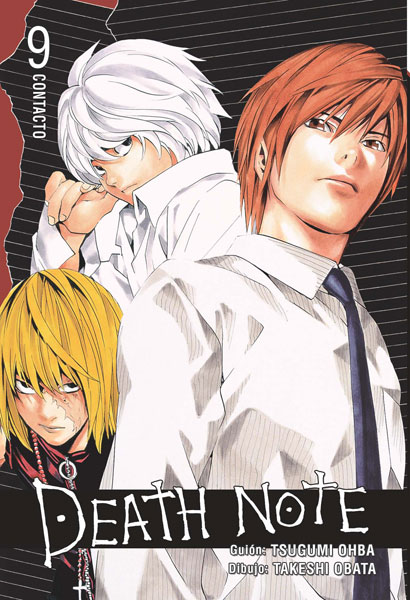 Death Note manga tomo 9 Contacto