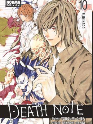 Death Note manga tomo 10 Eliminado