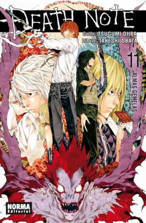 Death Note manga tomo 11 Almas Gemelas