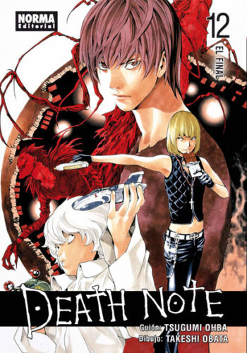Death Note manga tomo 12 El Final