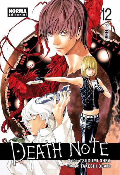 Death Note manga tomo 12 El Final