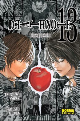 Death Note manga tomo 13 How To Read Death Note