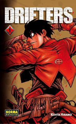 Drifters manga tomo 1