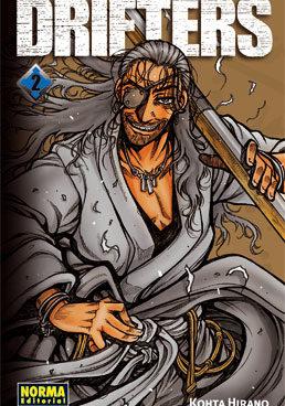 Drifters manga tomo 2