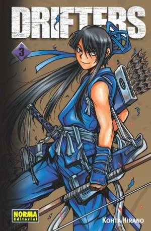 Drifters manga tomo 3