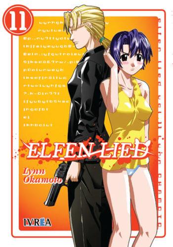 Elfen Lied manga tomo 11