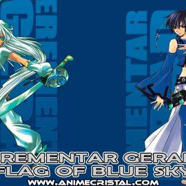 Manga Erementar Gerad Flag Of Blue Sky