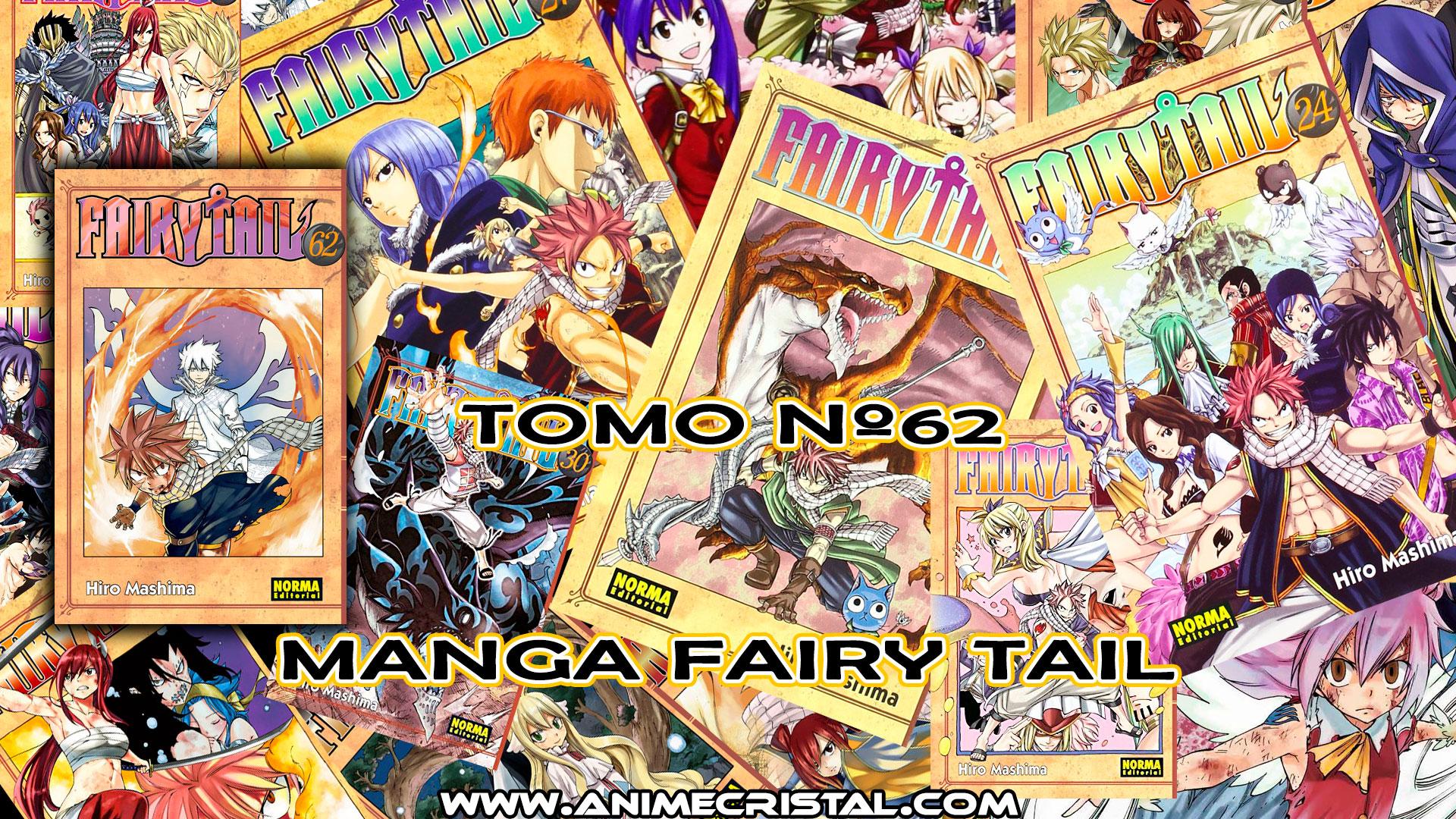Fairy Tail Manga 62 Anime Cristal Tienda Online De Manga