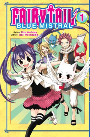 Manga Fairy Tail Blue Mistral 01