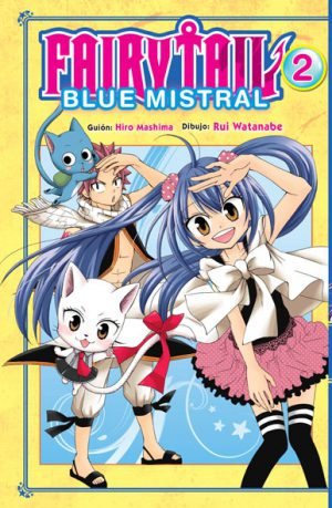 Manga Fairy Tail Blue Mistral 02