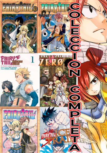 Manga Fairy Tail Coleccion Completa