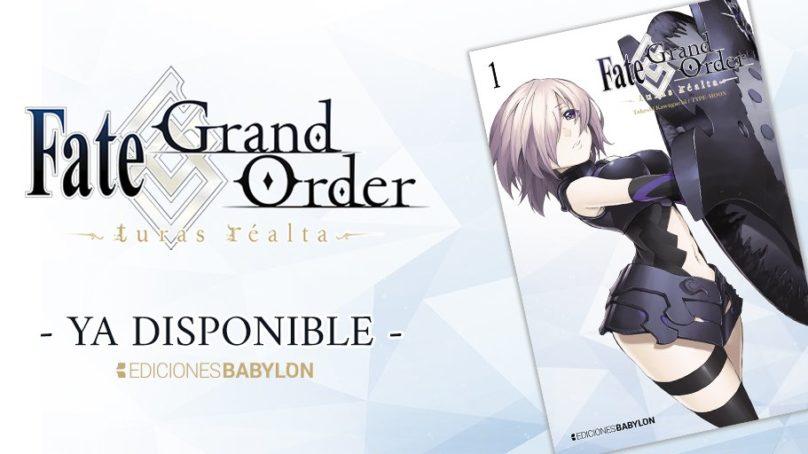 Manga Fate Grand Order: Turas Réalta Tomo 01