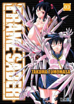 Frame Saber Manga Tomo 3