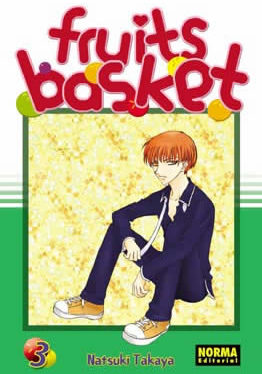 Fruits Basket manga tomo 3