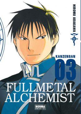 Fullmetal Alchemist Kanzenban manga tomo 3