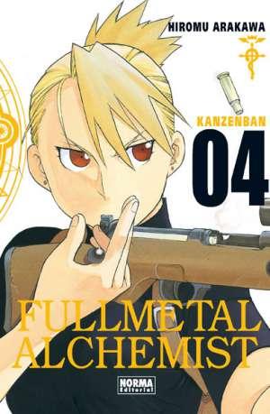Fullmetal Alchemist Kanzenban manga tomo 4