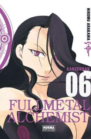 Fullmetal Alchemist Kanzenban manga tomo 6