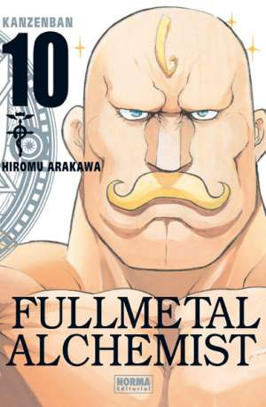 Fullmetal Alchemist Kanzenban manga tomo 10