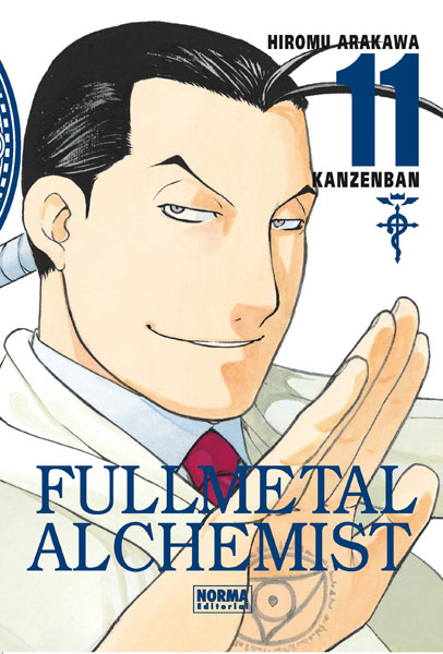 Fullmetal Alchemist Kanzenban manga tomo 11