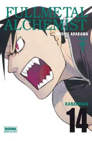 Fullmetal Alchemist Kanzenban manga tomo 14