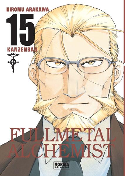 Fullmetal Alchemist Kanzenban manga tomo 15