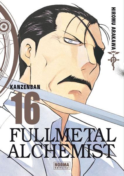 Fullmetal Alchemist Kanzenban manga tomo 16