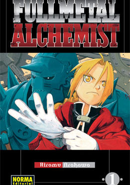 Fullmetal Alchemist manga tomo 1
