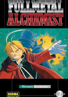 Fullmetal Alchemist manga tomo 2