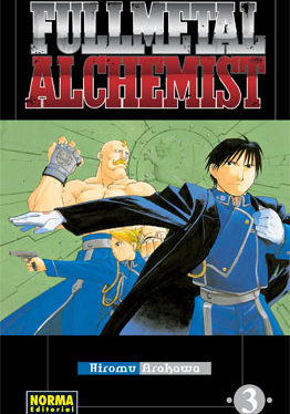 Fullmetal Alchemist manga tomo 3