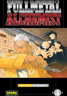 Fullmetal Alchemist manga tomo 4