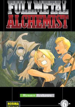 Fullmetal Alchemist manga tomo 6