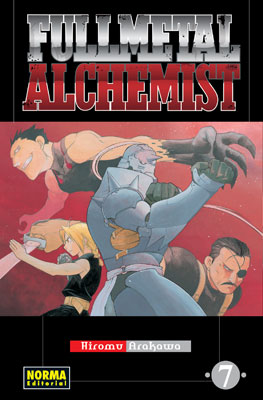 Fullmetal Alchemist manga tomo 7