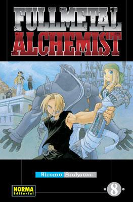Fullmetal Alchemist manga tomo 8