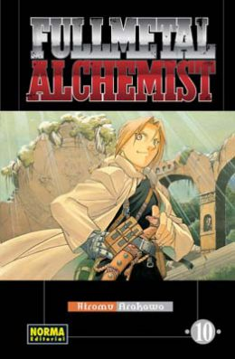 Fullmetal Alchemist manga tomo 10