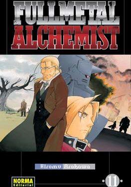Fullmetal Alchemist manga tomo 11