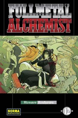 Fullmetal Alchemist manga tomo 12