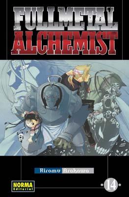 Fullmetal Alchemist manga tomo 14