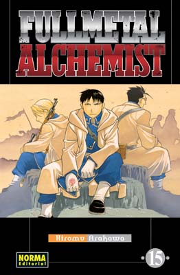 Fullmetal Alchemist manga tomo 15