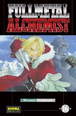 Fullmetal Alchemist manga tomo 16