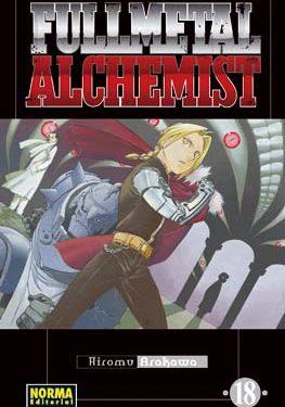 Fullmetal Alchemist manga tomo 18