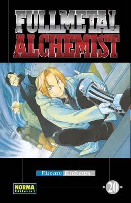 Fullmetal Alchemist manga tomo 20