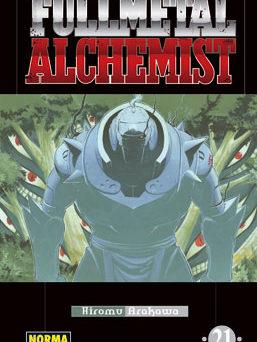 Fullmetal Alchemist manga tomo 21