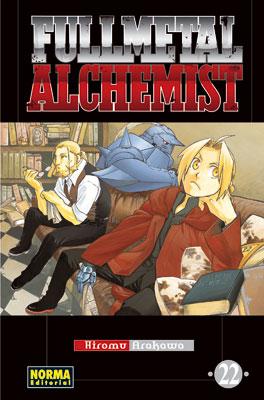 Fullmetal Alchemist manga tomo 22