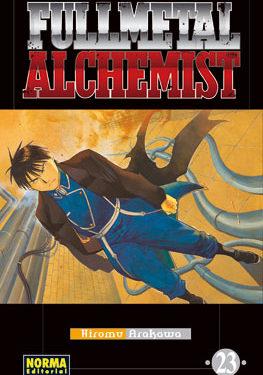 Fullmetal Alchemist manga tomo 23