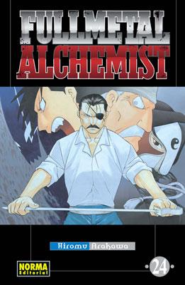 Fullmetal Alchemist manga tomo 24
