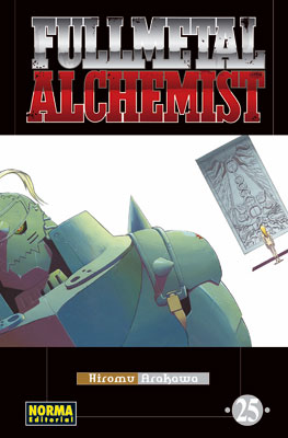 Fullmetal Alchemist manga tomo 25