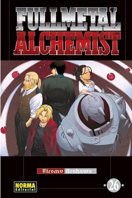 Fullmetal Alchemist manga tomo 26